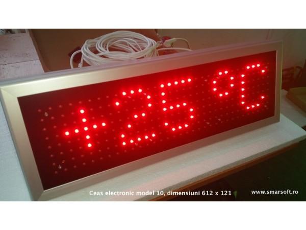 Ceas stradal cu LED-uri model 10, DP 16mm