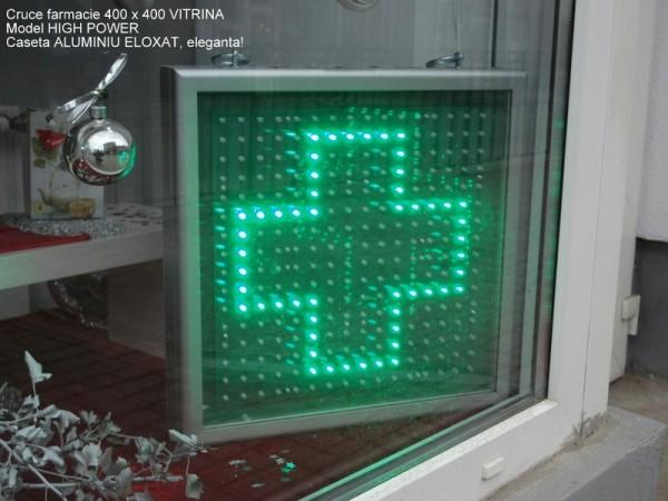 Cruce farmacie 400 x 400 ELEGANCE, model PATRAT