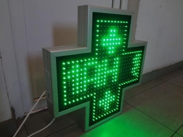 Cruce farmacie 600 x 600 ELEGANCE, model VITRINA