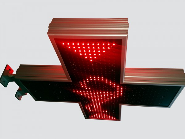 Cruce luminoasa 900mm ELEGANCE pentru CABINETE MEDICALE