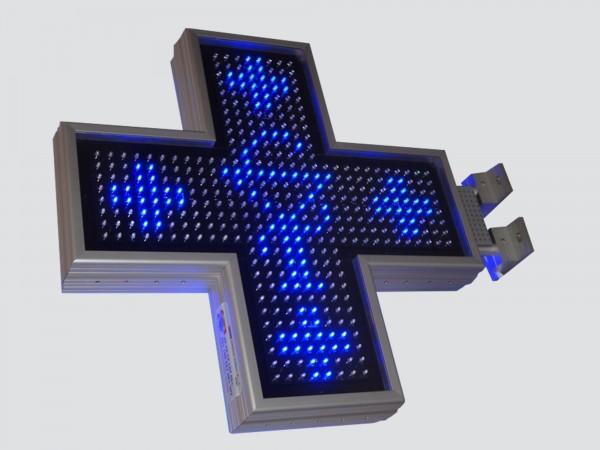 Cruce farmacie 700mm ELEGANCE, LED-uri AVAGO albastre