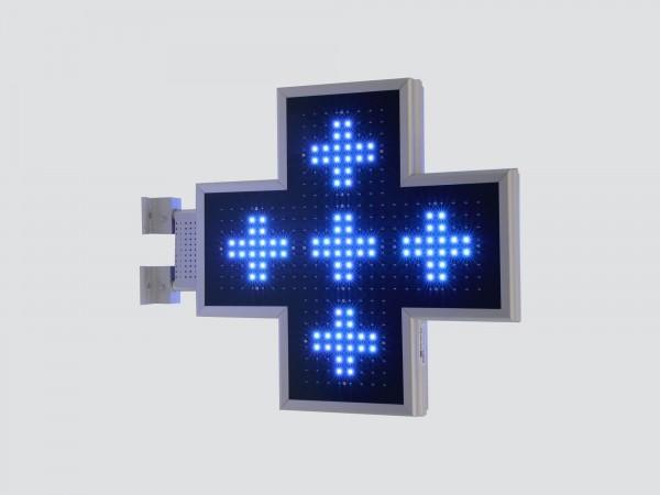 Cruce cu LED-uri 560mm ELEGANCE, LED-uri albastre