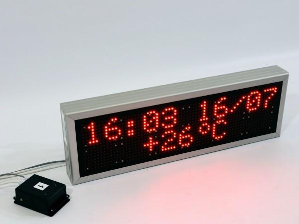Afisaj electronic 740 x 240, DP10, dotat cu dispozitiv de comanda GSM