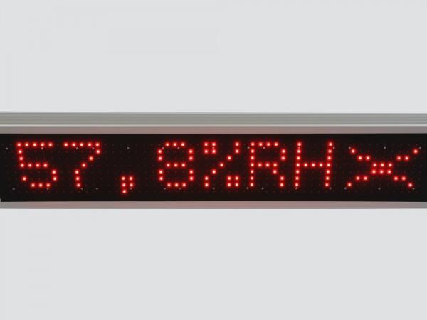 Afisaj electronic cu led-uri 1190mm x 250mm, comanda ModBus