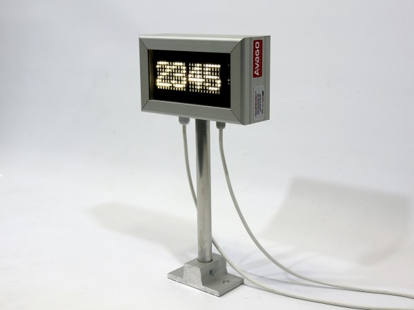 Afisaj cu LED-uri 4 caractere, 224mm x 132mm, DP6, comanda ModBus