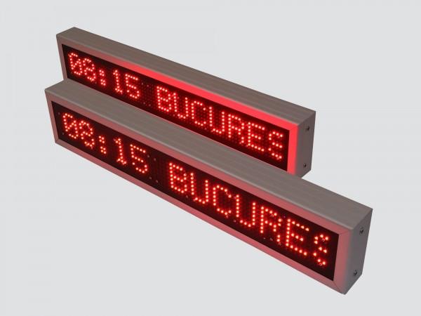 Afisaj electronic cu LED-uri 860mm x 160mm, DP10mm, pentru AUTOBUZ / AUTOCAR