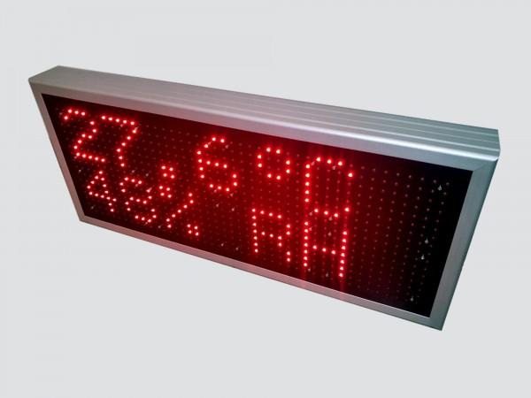 Afisaj electronic cu LED-uri 788mm x 340mm, DP16mm, comanda ModBus