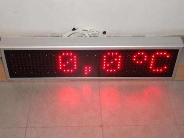 Afisaj electronic 970 x 250, intrare 4-20mA