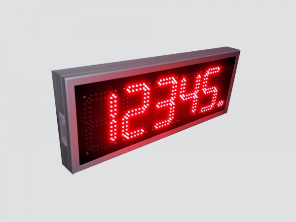 Afisaj electronic cu LED-uri 776 x 300, format afisare XXXXX, digit 98 x 182