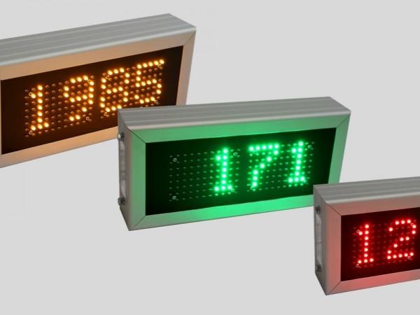 Sistem numaratoare electronice contorizare numar zile de la ultimul accident de munca