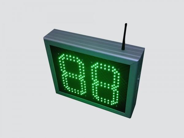 Numarator cu LED-uri, 2 caractere, digit 98 x 182