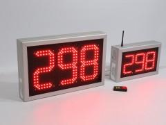 Sistem 2 numaratoare de forma XXX sincronizate prin fir, programare telecomanda