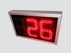 Numarator cu LED-uri, 3 caractere, digit 98 x 182, 465mm x 293mm