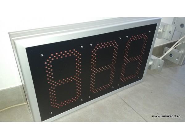Numarator 3 caractere, 600mm x 350mm, digit 120 x 225