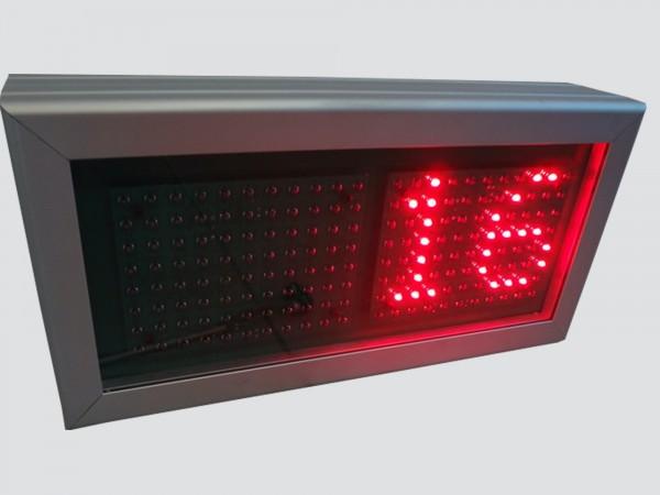 Numarator cu LED-uri 4 caractere, dimensiuni 342 x 174,DP 12mm
