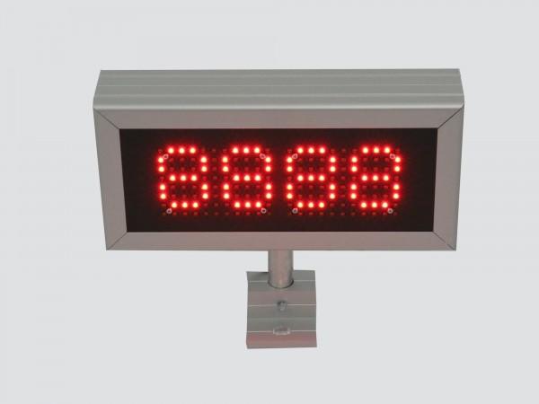 Numarator cu LED-uri 340mm x 160mm, 4 caractere, DP10mm