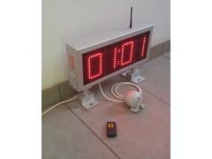 Cronometru cu LED-uri format MM:SS, 440mm x 200mm, digit 60x100, dotat cu telecomanda radio si sonerie externa