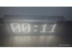 Cronometru cu LED-uri 558mm x 210mm, DP12mm,LED-uri OSRAM