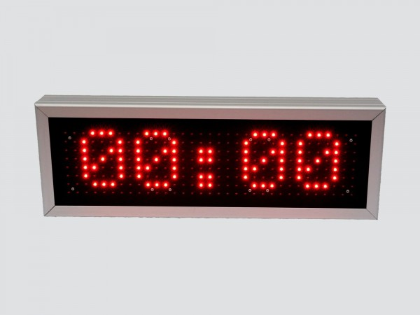 Cronometru cu LED-uri 612mm x 212mm, DP16, functionalitate DUALA