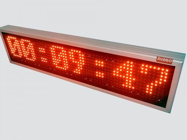 Cronometru cu LED-uri HH:MM:SS, 1108mm x 260mm,DP16mm