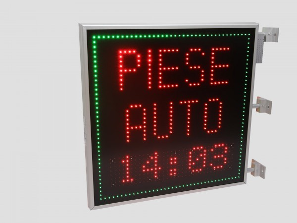 Reclama cu LED-uri 850mm x 850mm, PIESE AUTO