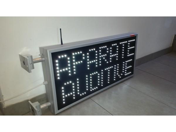 Reclama cu LED-uri 790mm x 410mm, LED-uri albe
