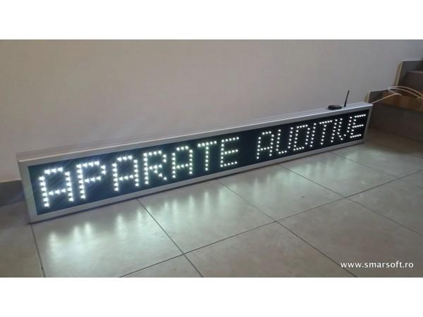 Reclama cu LED-uri 1830 x 230, APARATE AUDITIVE