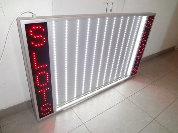 Reclama  SLOTS cu benzi  LED OSRAM