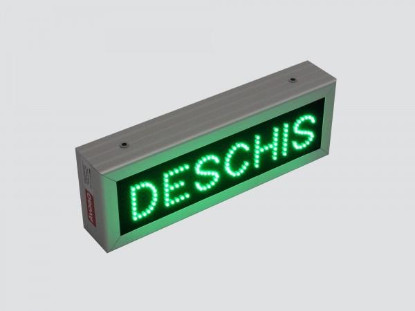 Reclama cu LED-uri DESCHIS, model ECONOMY