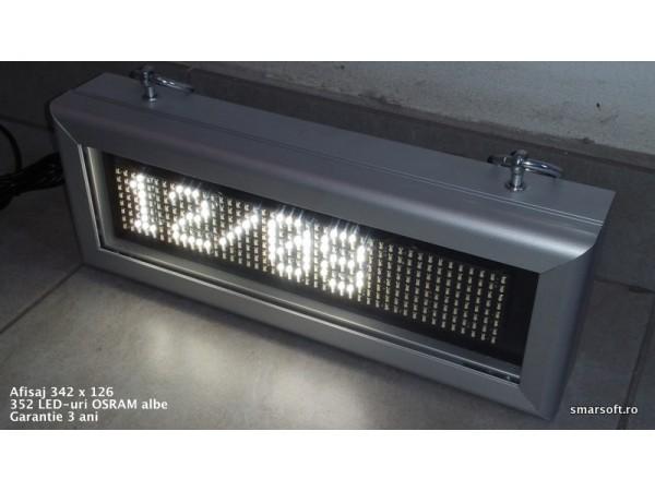 Afisaj cu LED-uri 348 x 132, afisare un rand, DP 6mm