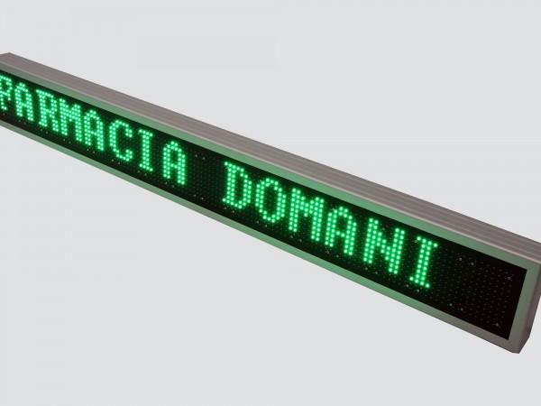 Afisaj electronic cu LED-uri 1614mm x 210mm, DP12mm