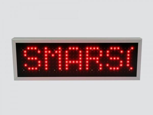 Afisaj cu LED-uri 750 x 250, afisaj 1 rand