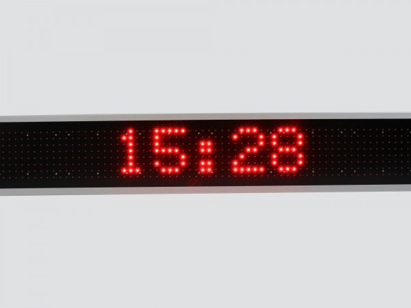 Afisaj cu LED-uri 1410 x 250 , afisare 1 rand
