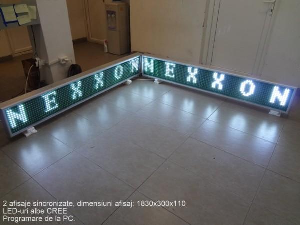 Afisaj cu LED-uri 1850 x 310