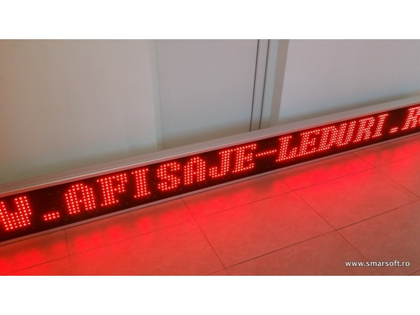 Afisaj electronic cu LED-uri 3450 x 310, afisare pe un rand