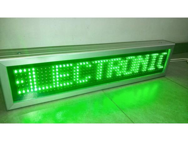 Afisaj electronic cu LED-uri 738mm x 174mm