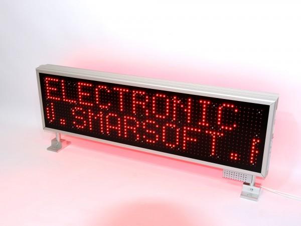 Afisaj electronic cu LED-uri 1140 x 340, afisare pe doua randuri, DP 16mm