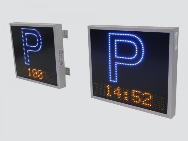 Sistem electronic cu LED-uri pentru gestionarea locurilor libere dintr-o PARCARE