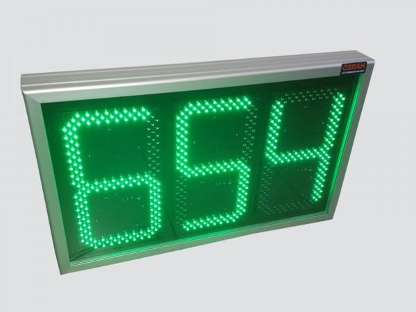Numarator cu LED-uri pentru PARCARE, digit 160x304