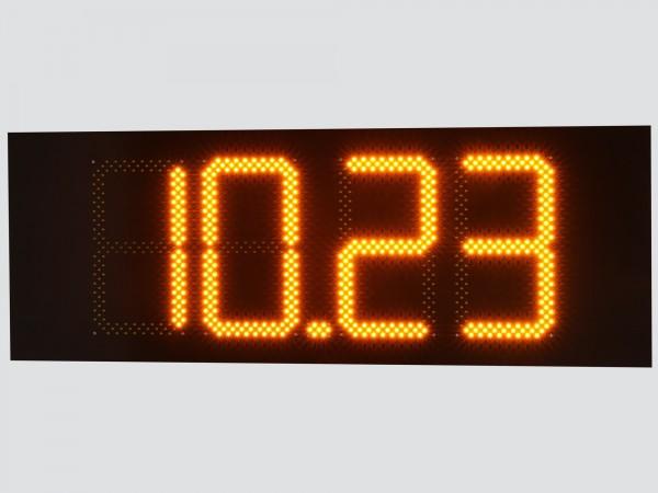Pret BENZINARIE format XX.XX, digit 160x304, LED-uri PORTOCALII BROADCOM
