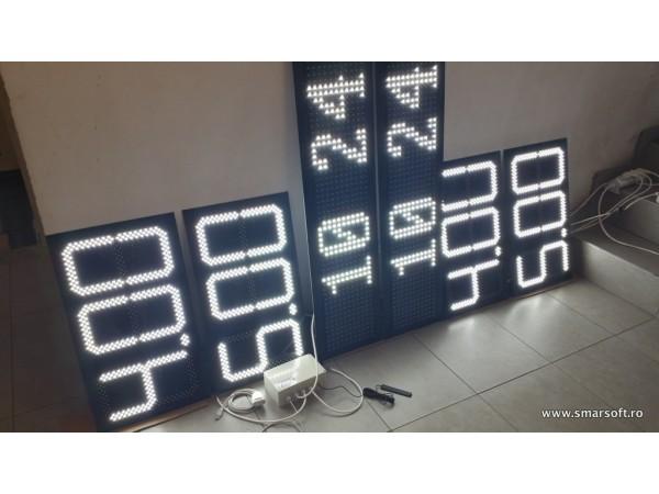 Sistem electronic cu LED-URI pentru TOTEMURI de BENZINARIE, digit 160x304