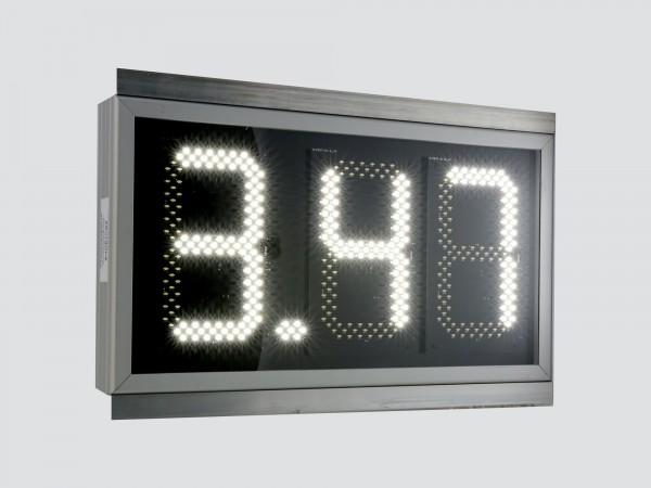 Afisaj electronic 635mm x 350mm,format X.XX, digit 120 x 225