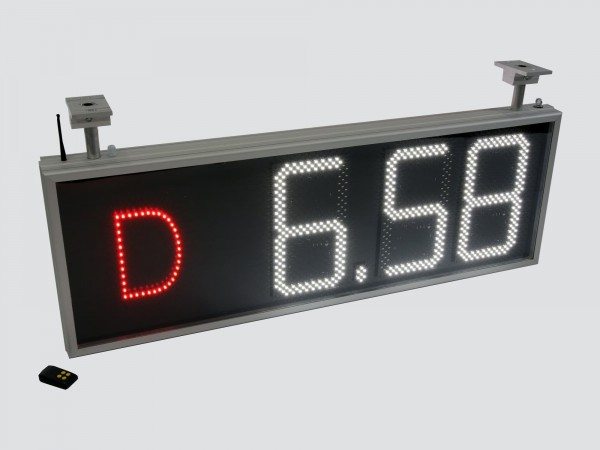 Afisaj electronic COMPLET pentru BENZINARII, 1100mm x 420mm, digiti 160 x 304