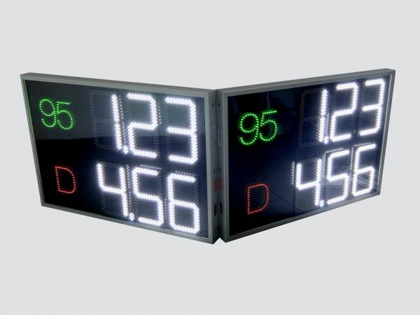 Afisaj electronic COMPLET 1150mm x 800mm, digiti 160 x 304