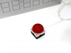 Cronometru cu LED-uri 620mm x 450mm, format MM:SS:ss digit 60 x 100