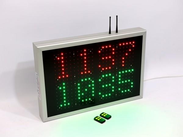 Afisaj cu LED-uri 600mm x 410mm, DP20, monitorizare eficienta utilaj