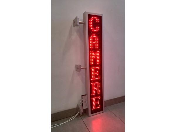 Reclama verticala cu LED-uri 212mm x 1140mm, DP16