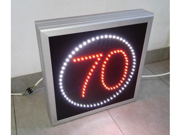 Panou LED informare 400X400 LIMITARE VITEZA