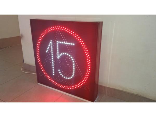 Panou LED informare 700 x 700 INFO