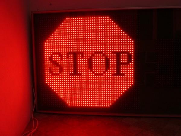 Afisaj LED 4000 x 1000 INFORMATII TRAFIC
